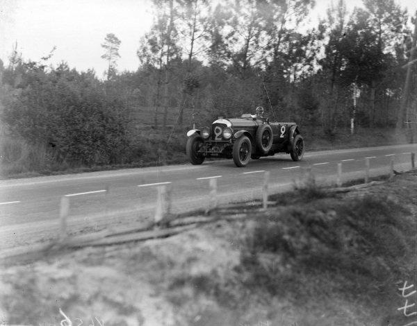 Frank Clement / Dick Watney, Team Bentley, Bentley Speed Six.