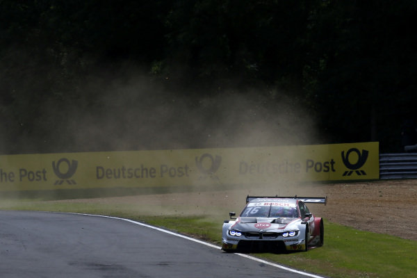 Timo Glock, BMW Team RMG, BMW M4 DTM off road.