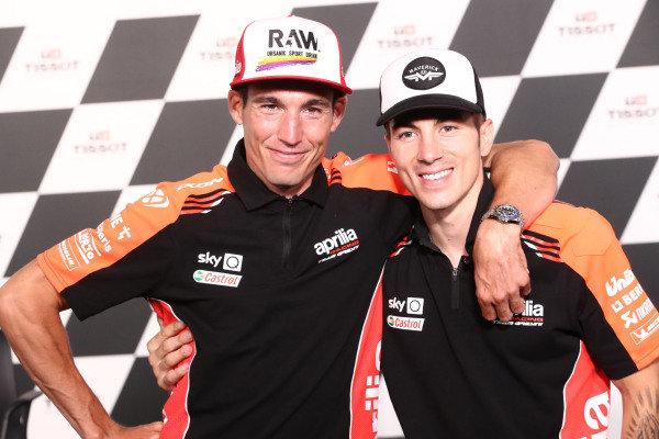 Aleix Espargaro, Aprilia Racing Team Gresini, Maverick Vinales, Aprilia Racing Team Gresini