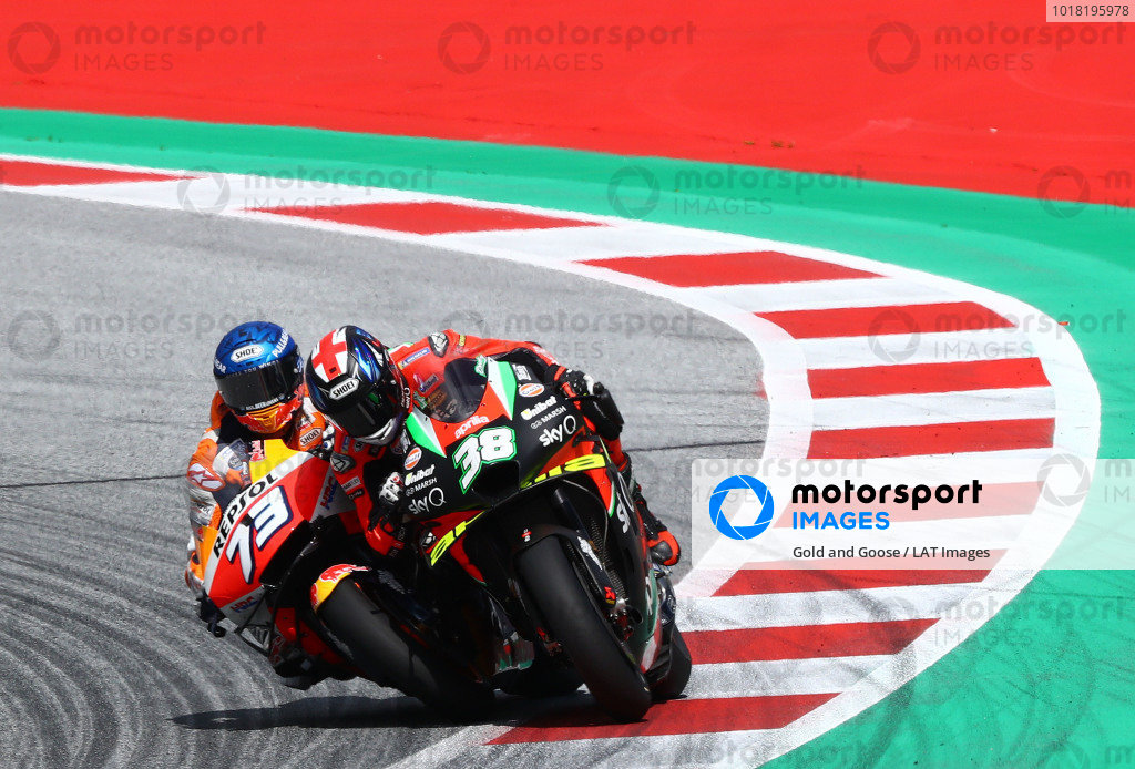 Alex Marquez, Repsol Honda Team  Bradley Smith, Aprilia Racing Team Gresini.