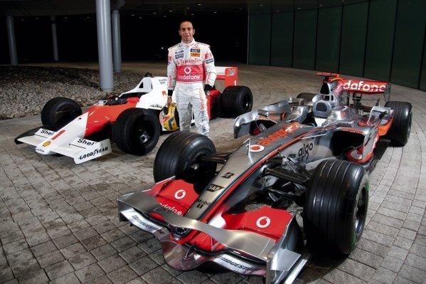 Lewis Hamilton (GBR) McLaren.TAG Heuer Celebrate 150 Years and 25 Years with McLaren, McLaren Technology Centre, Woking, England, 3 December 2009.