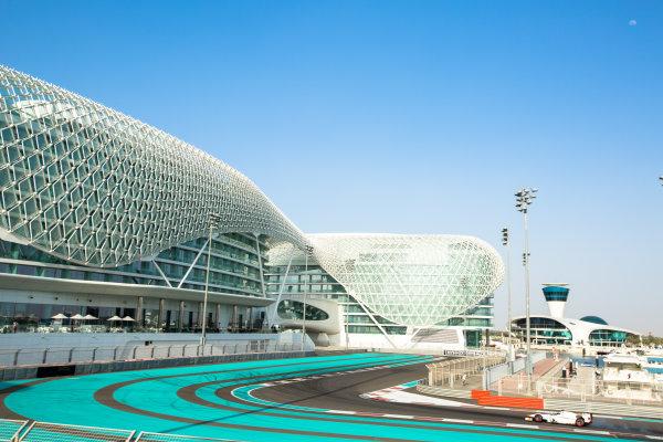 2014 GP2 Series Test 1  Yas Marina Circuit, Abu Dhabi, UAE.  Wednesday 12 March 2014. Arthur Pic (FRA) Campos Racing  Photo: Malcolm Griffiths/GP2 Series Media Service ref: Digital Image A50A4743