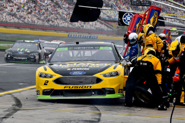 Monster Energy NASCAR Cup Series Bank of America 500 Charlotte Motor Speedway, Concord, NC Sunday 8 October 2017 Brad Keselowski, Team Penske, Alliance Truck Parts Ford Fusion World Copyright: Rusty Jarrett LAT Images
