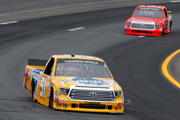 NASCAR Camping World Truck Series UNOH 175  New Hampshire Motor Speedway Loudon, NH USA Friday 22 September 2017 Todd Gilliland, Pedigree Toyota Tundra, Grant Enfinger, Ride TV Toyota Tundra World Copyright: Lesley Ann Miller LAT Images