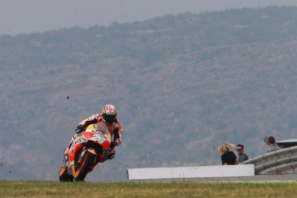 2017 MotoGP Championship - Round 14 Aragon, Spain. Friday 22 September 2017 Dani Pedrosa, Repsol Honda Team World Copyright: Gold and Goose / LAT Images ref: Digital Image 693641