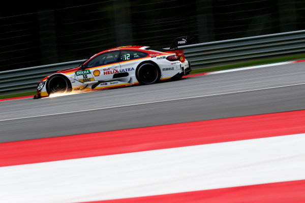 2017 DTM Round 8  Red Bull Ring, Spielberg, Austria  Friday 22 September 2017. Augusto Farfus, BMW Team RMG, BMW M4 DTM  World Copyright: Alexander Trienitz/LAT Images ref: Digital Image 2017-DTM-RBR-AT2-0550