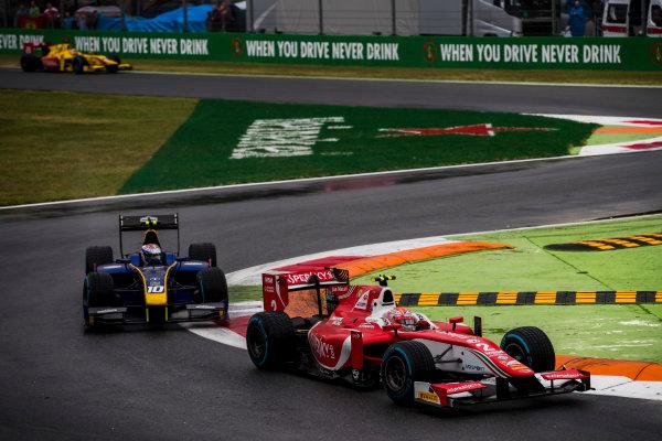 2017 FIA Formula 2 Round 9. Autodromo Nazionale di Monza, Monza, Italy. Saturday 2 September 2017. Antonio Fuoco (ITA, PREMA Racing).  Photo: Zak Mauger/FIA Formula 2. ref: Digital Image _56I8165