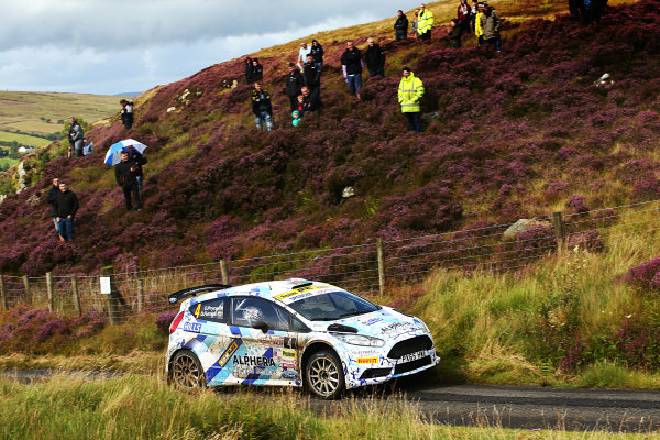 2017 British Rally Championship, Ulster Rally, Londonderry. 18th - 19th August 2017. Osian Pryce / Dale Furniss Ford Fiesta R5 World Copyright: JEP/LAT Images.