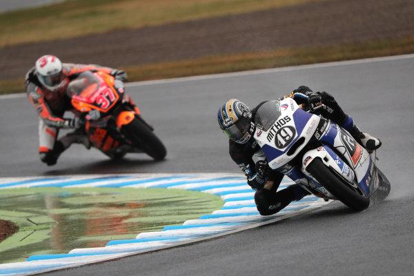 2017 Moto2 Championship - Round 15 Motegi, Japan. Sunday 15 October 2017 Axel Pons, RW Racing GP World Copyright: Gold and Goose / LAT Images ref: Digital Image 698118