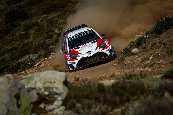 2017 FIA World Rally Championship, Round 07, Rally Italia Sardegna, June 8-11, 2017, Eskapekka Lappi, Toyota, action Worldwide Copyright: McKlein/LAT