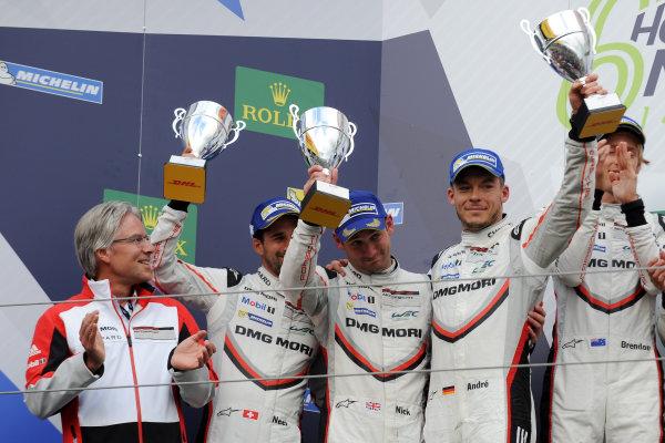 2017 World Endurance Championship, Nurburgring, Germany. 14th-16th July 2017 #1 Porsche LMP Team Porsche 919 Hybrid: Neel Jani, Andre Lotterer, Nick Tandy  World copyright. JEP/LAT Images