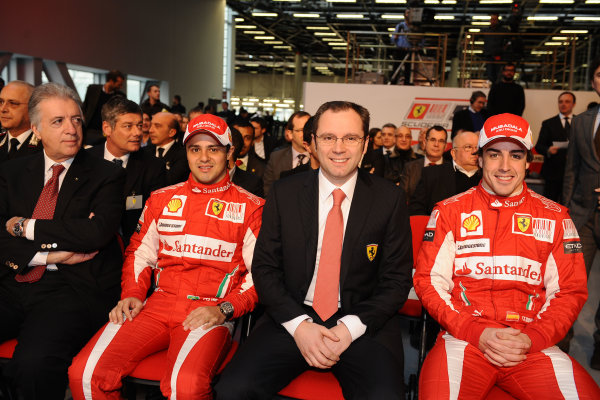 Maranello, Italy. 28th February 2010.