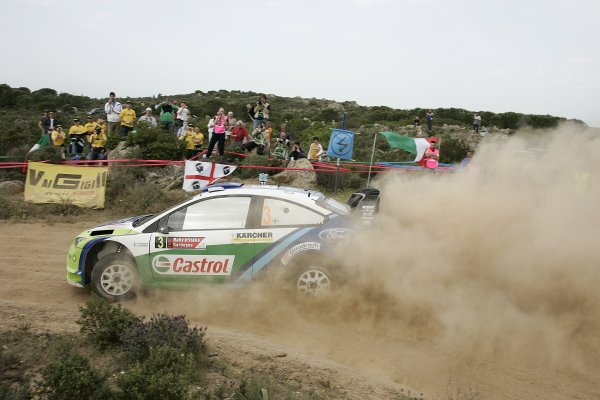 FIA World Rally Championship 2006Round 7Rally of Italy, Sardinia.18th - 21st May 2006.Marcus Gronholm, Ford, action.