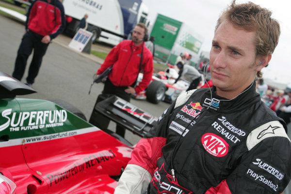 2005 GP2 Series - Great BritainSilverstone , England8th - 10th July 2005Friday QualifyingMathias Lauda (A, Coloni Motorsport). Portrait. World Copyright: GP2 Series Media Service ref: Digital Image Only