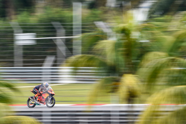2017 Moto3 Championship - Round 17 Sepang, Malaysia. Friday 27 October 2017 Niccolo Antonelli, Red Bull KTM Ajo World Copyright: Gold and Goose / LAT Images ref: Digital Image 25052