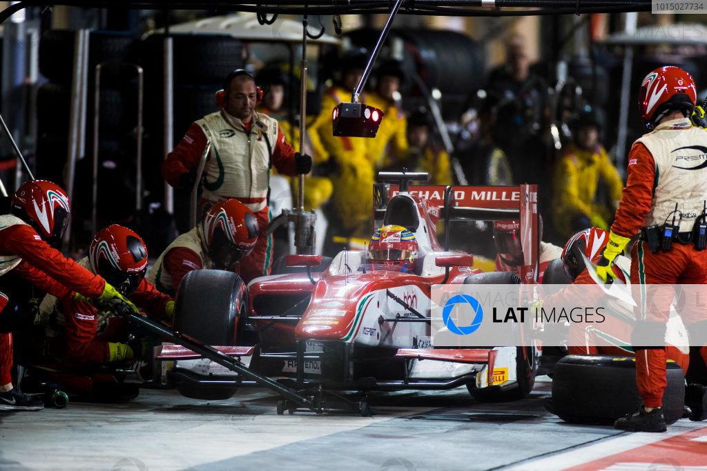 2017 FIA Formula 2 Round 11. Yas Marina Circuit, Abu Dhabi, United Arab Emirates. Saturday 25 November 2017. Charles Leclerc (MCO, PREMA Racing).  Photo: Sam Bloxham/FIA Formula 2. ref: Digital Image _W6I3405
