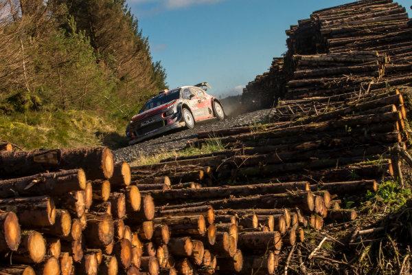 2017 FIA World Rally Championship, Round 12, Wales Rally GB, 26-29 October, 2017, Craig Green, Citroen, action, Worldwide Copyright: LAT/McKlein