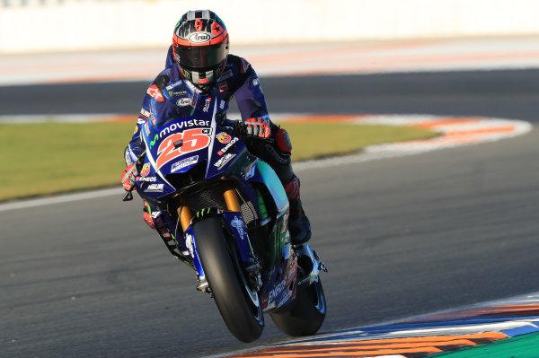 2017 MotoGP Championship - Valencia test, Spain. Tuesday 14 November 2017 Maverick Viñales, Yamaha Factory Racing World Copyright: Gold and Goose / LAT Images ref: Digital Image 706899