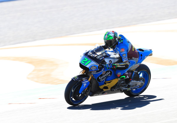2017 MotoGP Championship - Valencia test, Spain. Tuesday 14 November 2017 Franco Morbidelli, Estrella Galicia 0,0 Marc VDS World Copyright: Gold and Goose / LAT Images ref: Digital Image 706848