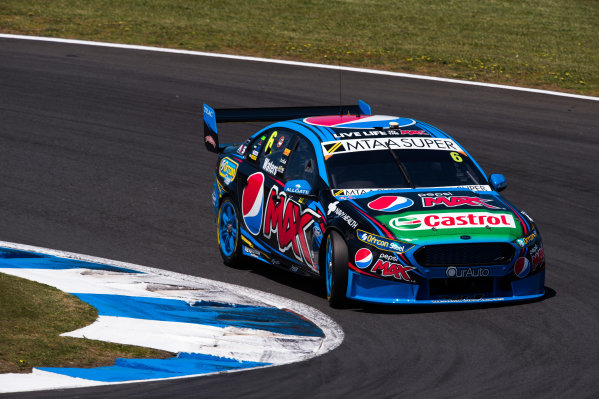 2015 V8 Supercars Round 12. Auckland 500, Pukekohe Park Raceway, Auckland, New Zealand. Friday 6th November - Sunday 8th November 2015. Cameron Waters drives the #6 Pepsi Max Crew PRA Ford FG X Falcon. World Copyright: Daniel Kalisz/LAT Photographic  Ref: Digital Image V8SCR12_AUCKLAND500_DKIMG1175.JPG