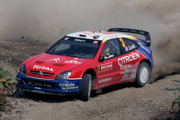 2004 FIA World Rally Champs. Round eleven, Rally Japan.2nd-5th September 2004.Sebastan Loeb. Citroen, action.World Copyright: McKlein/LAT