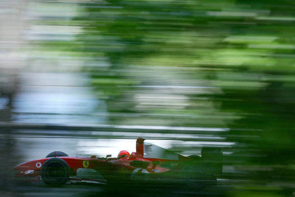 2004 Canadian Grand Prix - Saturday QualifyingMontreal, Canada.12th June 2004.Michael Schumacher, Ferrari F2004, action.World copyright LAT Photographic.Digital image only (a high res version is available on request)Can_04_Fri_D017 JPG