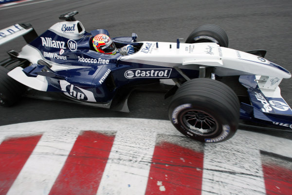 2004 Belgian Grand Prix - Friday Practice,Spa-Francorchamps, Belgium. 27th August 2004 Antonio Pizzonia, WilliamsF1 BMW FW26, action.World Copyright: Steve Etherington/LAT Photographic ref: Digital Image Only