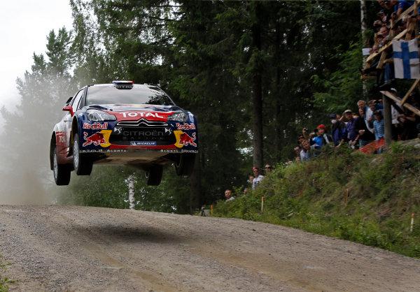 Round 08-Neste Rally Finland 1/8-4/8 2012.Sebastien Loeb, Citroen WRC, Action.Worldwide Copyright: McKlein/LAT