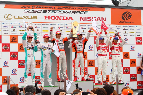 Rd 4 SUGO 300km, Sugo, Japan. 29th July 2012.