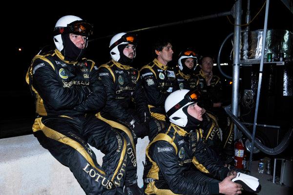 17-20 October, 2012, Braselton, Georgia USA Crew (12) Rebellion Racing Lola Toyota B12/60 .(  LAT Photo USA