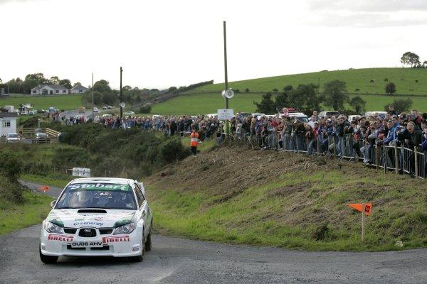2006 British Rally ChampionshipUlster Rally, Armagh.2nd September 2006Mark HigginsWorld Copyright - Ebrey/LAT Photographic
