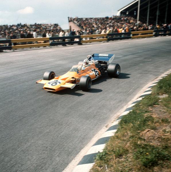 Zandvoort, Holland.18-20 June 1971.Denny Hulme (McLaren M19A Ford).Ref-3/4774P.World Copyright - LAT Photographic