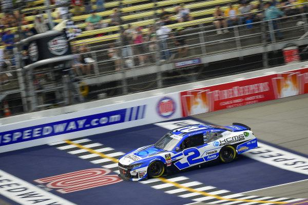 #2: Tyler Reddick, Richard Childress Racing, Chevrolet Camaro KC Motorgroup takes the checkered flag