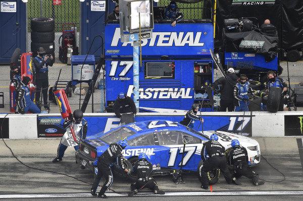 #17: Chris Buescher, Roush Fenway Racing, Ford Mustang