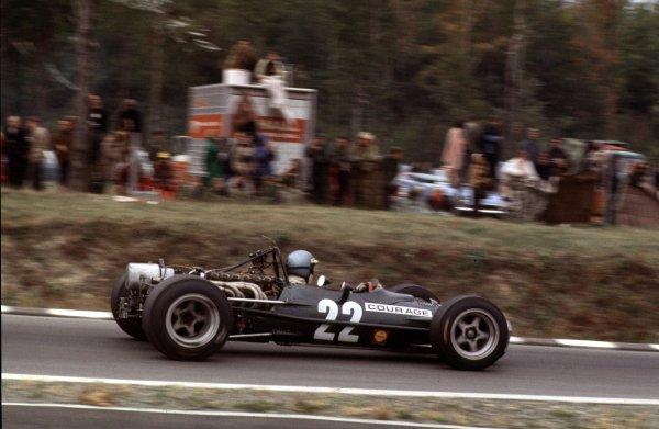 1968 United States Grand Prix.Watkins Glen, New York, USA.4-6 October 1968.Piers Courage (BRM P126).Ref-68 USA 64.World Copyright - LAT Photographic
