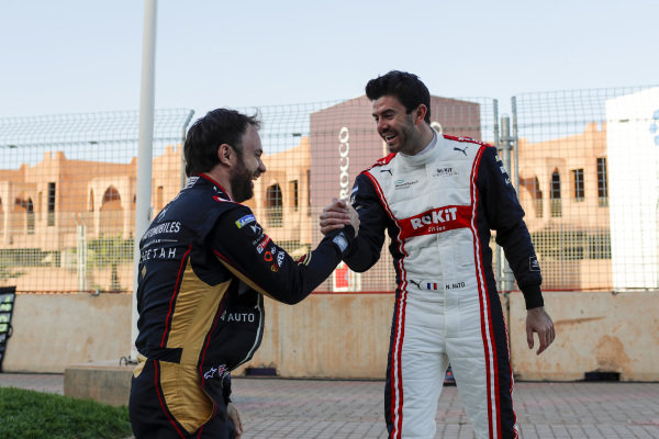 Nicolas Lapierre (FRA), Rookie Test Driver for DS Techeetah and Norman Nato (FRA), Rookie Test Driver for Venturi