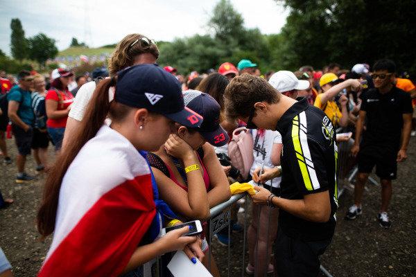 HUNGARORING, HUNGARY - AUGUST 02: Felipe Drugovich (BRA, Carlin Buzz Racing) during the Hungaroring at Hungaroring on August 02, 2019 in Hungaroring, Hungary. (Photo by Joe Portlock / LAT Images / FIA F3 Championship)