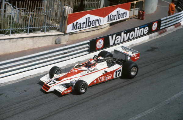 Monte Carlo, Monaco. 7 May 1978.