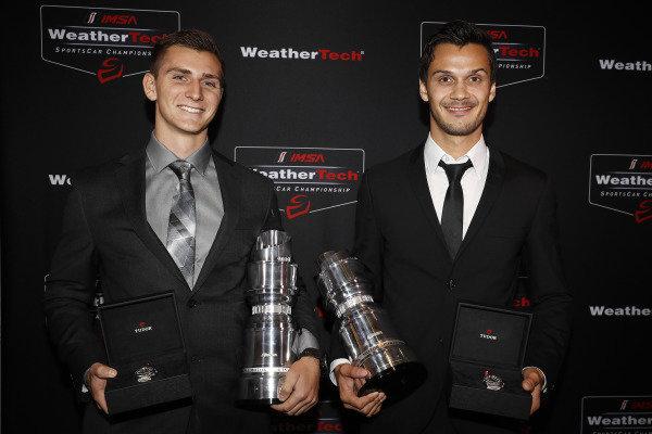 #86 Meyer Shank Racing w/ Curb-Agajanian Acura NSX GT3, GTD: Mario Farnbacher, Trent Hindman, GTD champions, Tudor watches