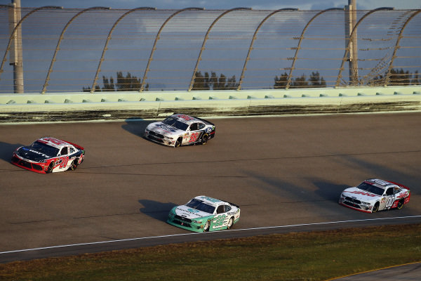 #22: Austin Cindric, Team Penske, Ford Mustang MoneyLion and #20: Christopher Bell, Joe Gibbs Racing, Toyota Supra Rheem-Watts