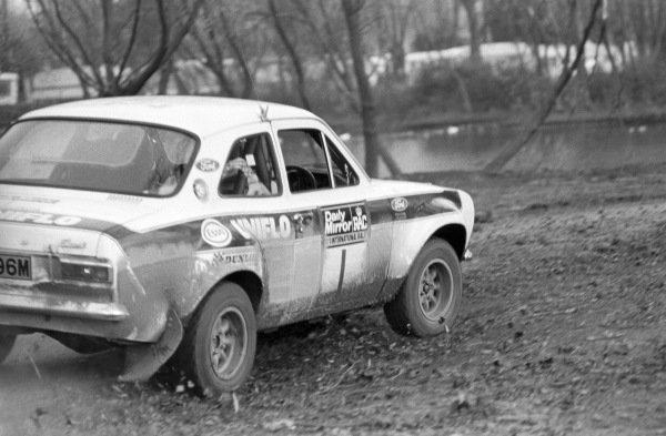 Roger Clark / Tony Mason, Ford Escort RS 16000 Mk1.