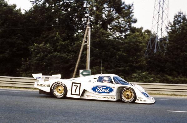 Manfred Winkelhock / Klaus Niedzwiedz, Ford, Ford C100.