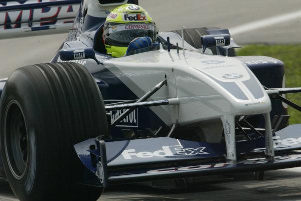 2002 Malaysian Grand Prix - Sunday RaceSepang, Malaysia. 17th March 2002World Copyright: LAT Photographicref: Digital Image Only