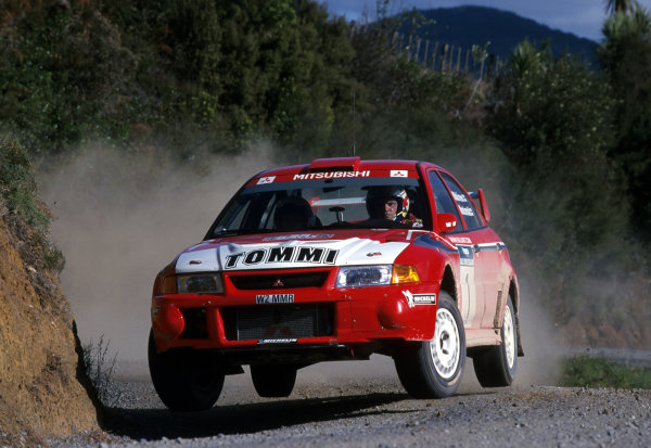 2000 World Rally ChampionshipRound 8, New Zealand Rally14th -16th July 2000Tommi Makinen - Mitsubishi.World - Mcklein / LAT Photographic
