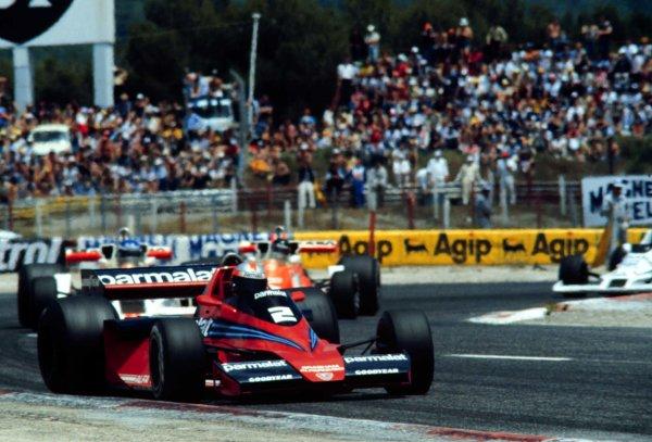 1978 French Grand Prix.Paul Ricard, Le Catellet, France.30/6-2/7 1978.John Watson (Brabham BT46 Alfa Romeo) 4th position.World Copyright - LAT Photographic