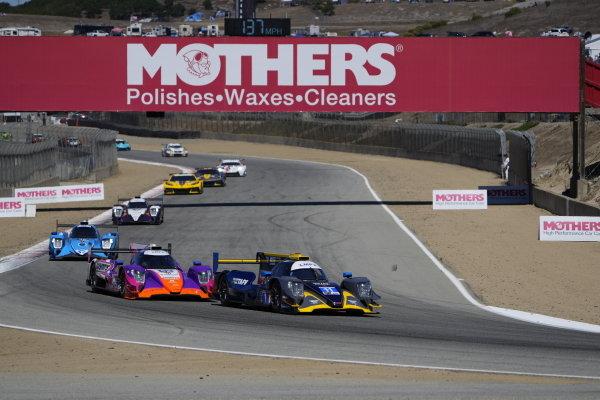 #11: WIN Autosport ORECA LMP2 07, LMP2: Steven Thomas, Tristan Nunez, #52: PR1 Mathiasen Motorsports ORECA LMP2 07, LMP2: Ben Keating, Mikkel Jensen