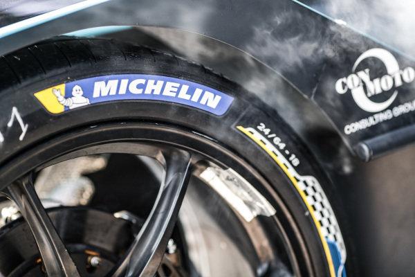 Michelin tyre.