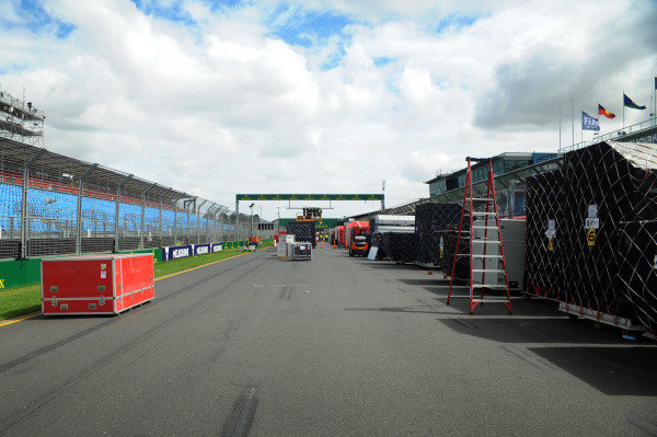 Freight arrives on the grid