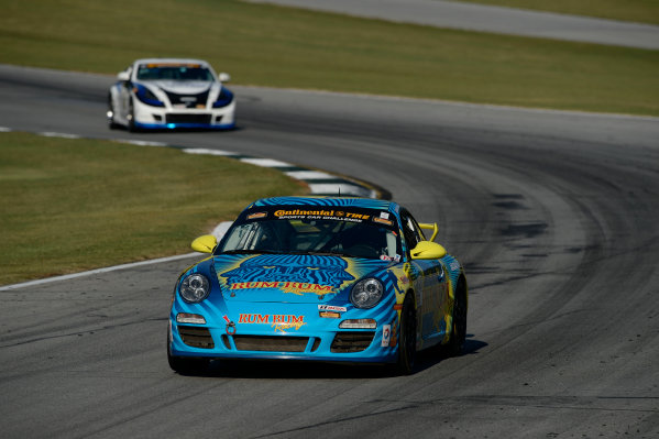 1-3 October,  2014,  Braselton, Georgia, USA 13, Porsche, 997, GS, Matt Plumb, Nick Longhi ©2014, Richard Dole LAT Photo USA
