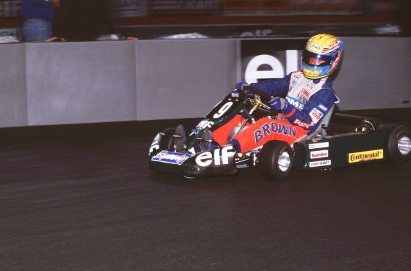 2000 Elf Masters Karting Bercy Paris, France. 10th December 2000. World Karting Champion Colin Brown in action. World Copyright: Chris Dixon/LAT Photographic